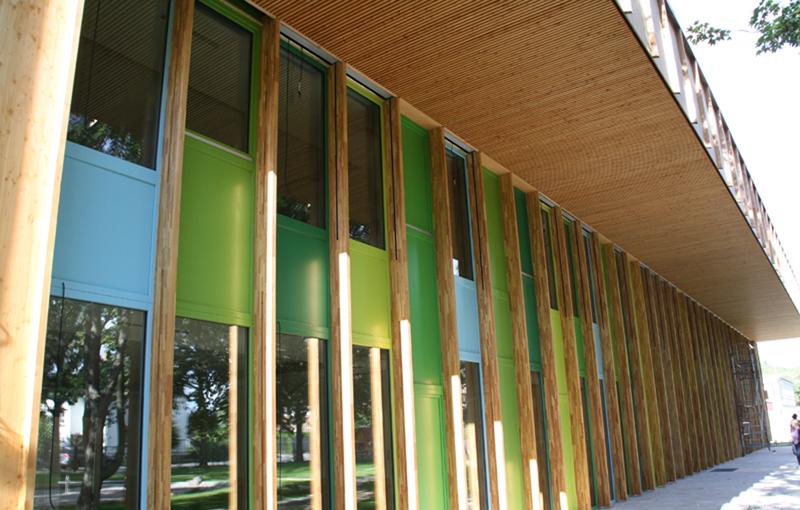 Schreinerei Fäth Referenz - Kindertagesstätte Bensheim Passivhaus