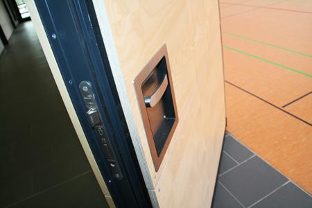 Referenz Holzaluminiumfensterarbeiten an Sporthalle der Kurt-Schuhmacher-Schule in Reinheim von Schreinerei FÄTH
