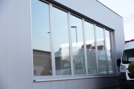 Referenz Aluminiumfensterarbeiten an SB Waschanlage in Reinheim von Schreinerei FÄTH