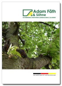 Broschüre von Schreinerei FÄTH