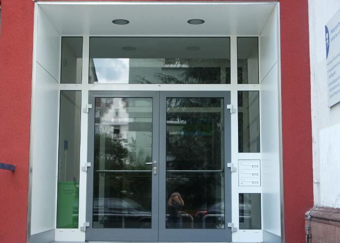 Referenz Aluminiumfensterarbeiten an Schillerschule in Darmstadt von Schreinerei FÄTH