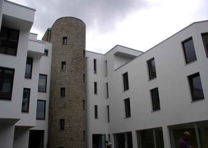 Referenz Aluminiumfensterarbeiten an Hotel Ullrich in Elfershausen von Schreinerei FÄTH