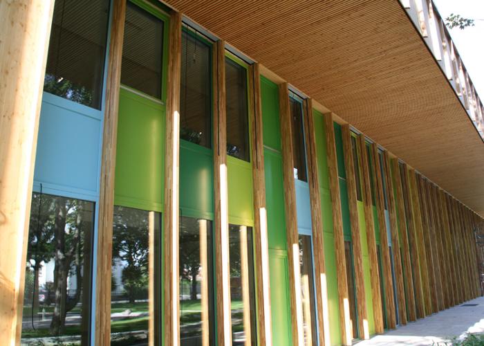 Referenz Holzfensterarbeiten an Kindergarten in Bensheim von Schreinerei FÄTH