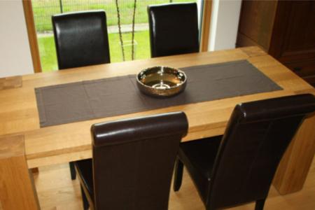 Möbel und Verkleidungen Esstisch mit Stühlen von Schreinerei FÄTH
