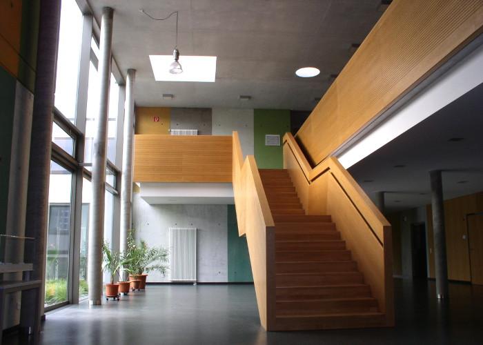 Referenz Innenausbauarbeiten an Polizeistation in Dieburg von Schreinerei FÄTH