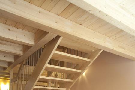 Möbel und Verkleidungen Wandverkleidung aus Holz von Schreinerei FÄTH